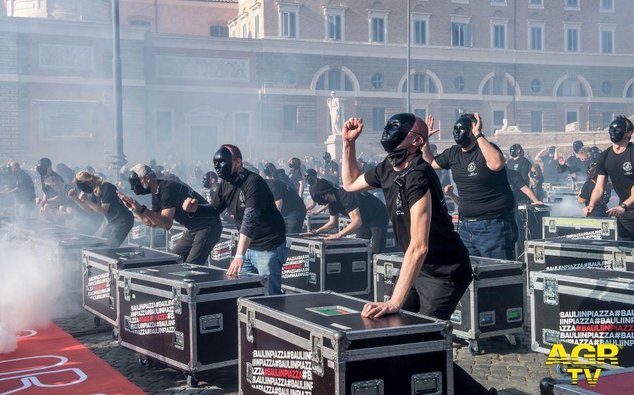 Bauli in piazza del popolo