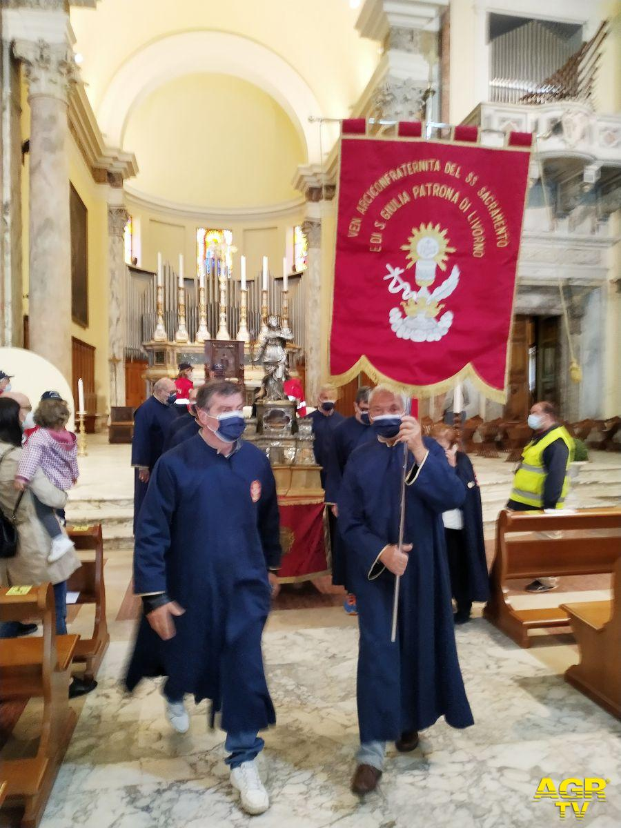 Livorno festeggiamenti Patrona santa Giulia
