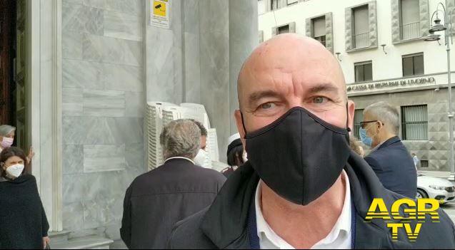 Sindaco di Livorno Luca Salvetti
