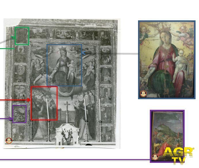 Carabinieri-Comando provinciale di Firenze I Carabinieri per la Tutela del Patrimonio Culturale restituiscono sei opere d'arte trafugate nel 1976 e nel 2011