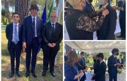 Inaugurata la  sede e la targa del nuovo  ROTARACT CLUB ROMA CRISTOFORO COLOMBO