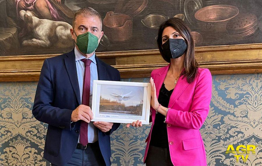 24 maggio giornata Europea dei parchi, alla sindaca Raggi foto vincitrice del concorso Obiettivo Terra