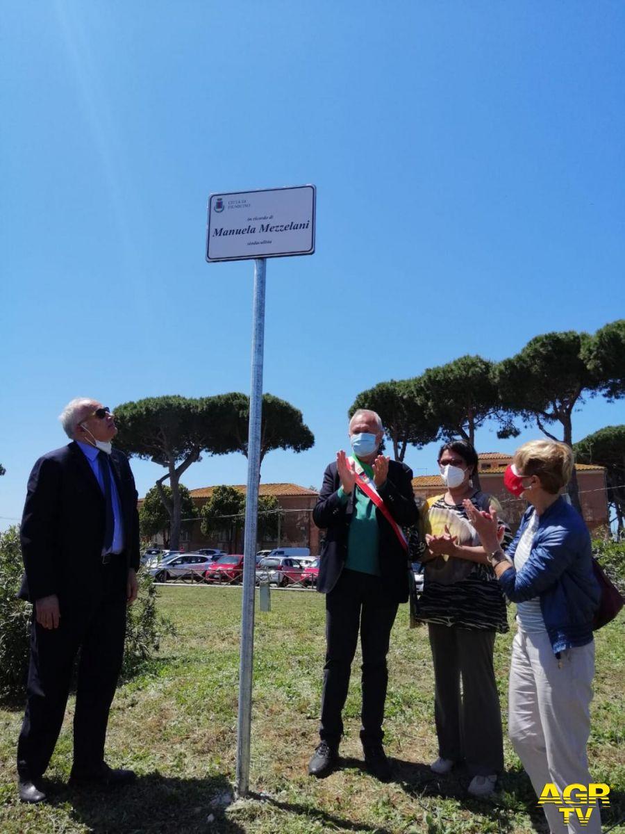 area verde intitolata Manuela Mezzelani