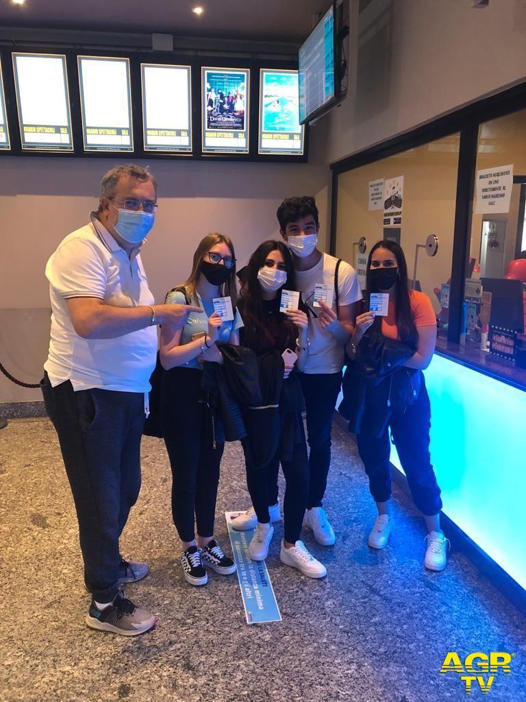 Primi clienti a Cineland con Paolo Paone