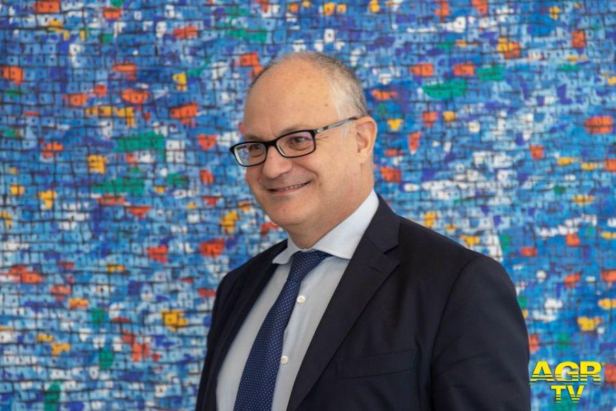 Roberto Gualtieri candidato sindaco Pd per Roma
