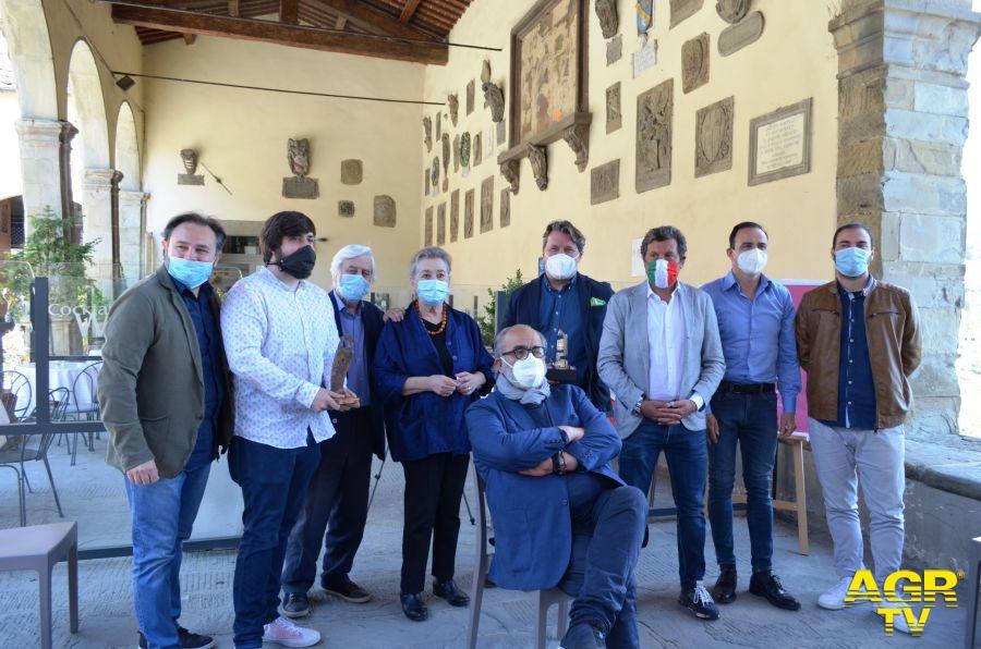 Foto di gruppo conferenza stampa Castiglioni Film Festival