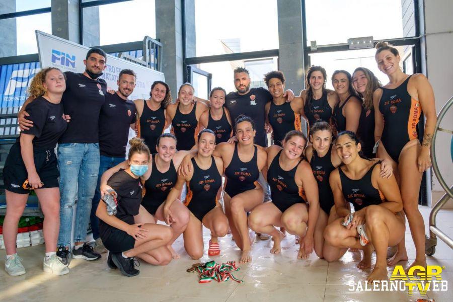Sis Roma terza al campionato italiano serie A1