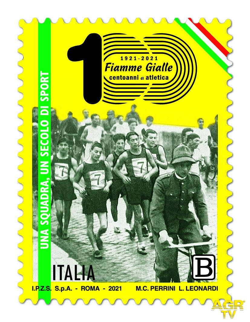 Una squadra, un secolo di sport...Poste italiane rende omaggio alle Fiamme Gialle nel centenario