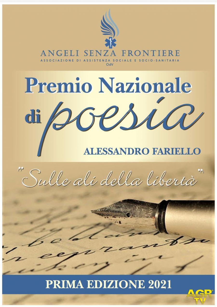 """""""Sulle ali della libertà"""", premio di poesie in memoria di Alessandro Fariello"""