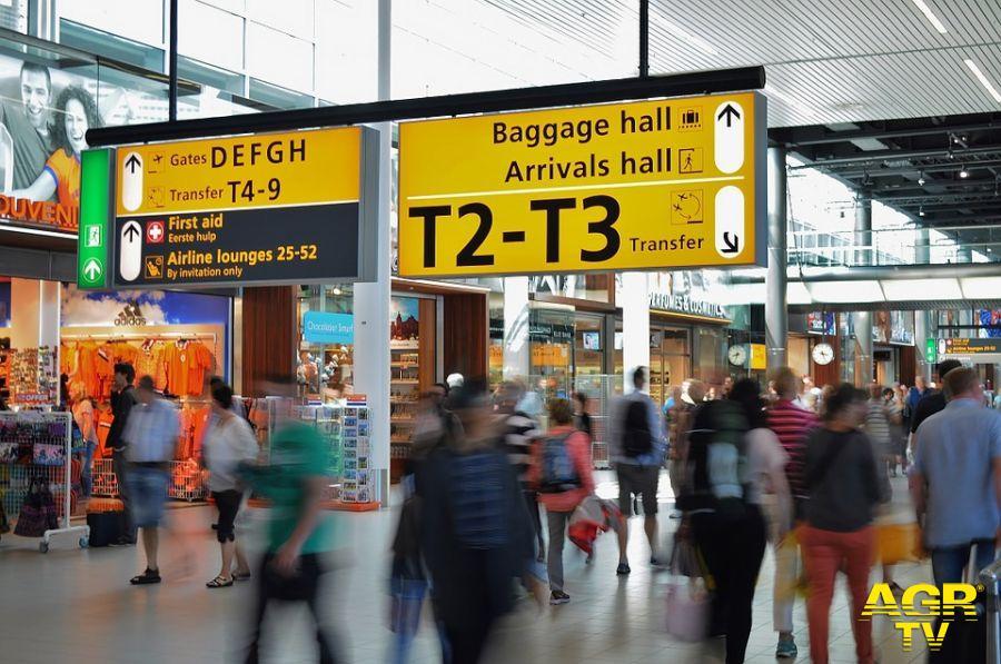 Roma Informa trasmesso anche in aeroporto