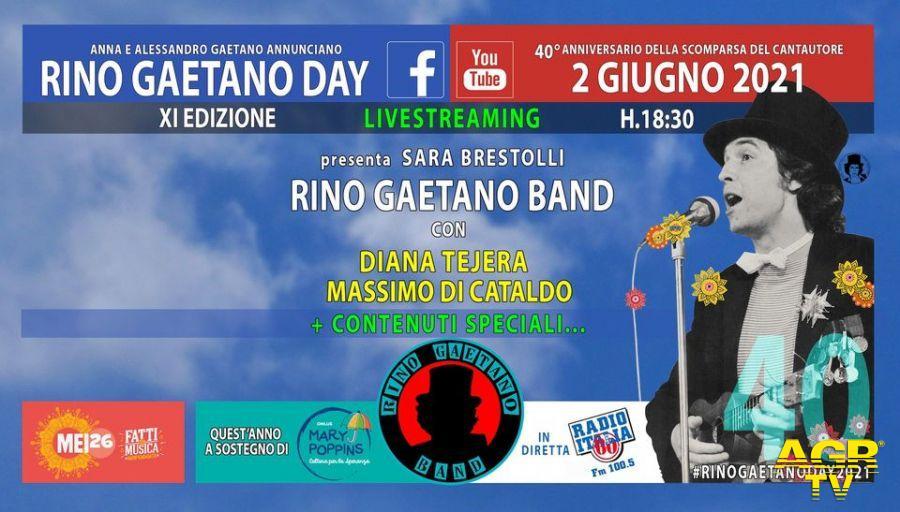 Rino Gaetano day 2021 in diretta streaming