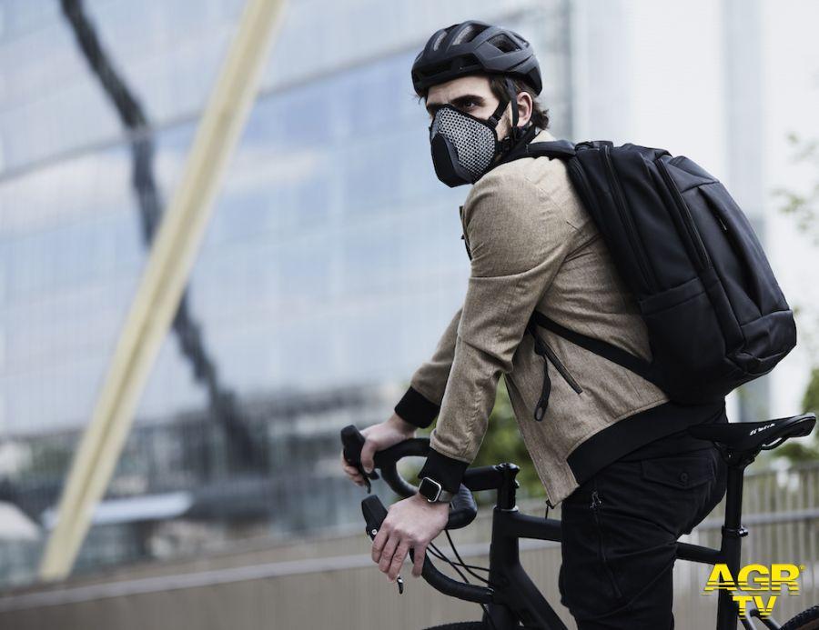 Mascherine per la bici anti-smog