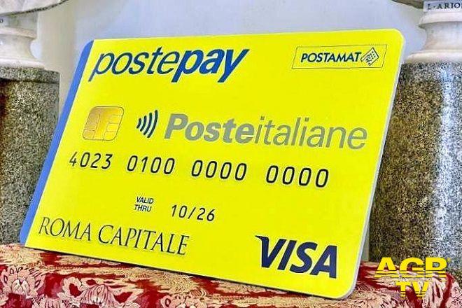 poste pay carta spesa famiglie in difficoltà