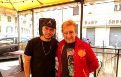 Marco Sentieri con Dario Salvatori