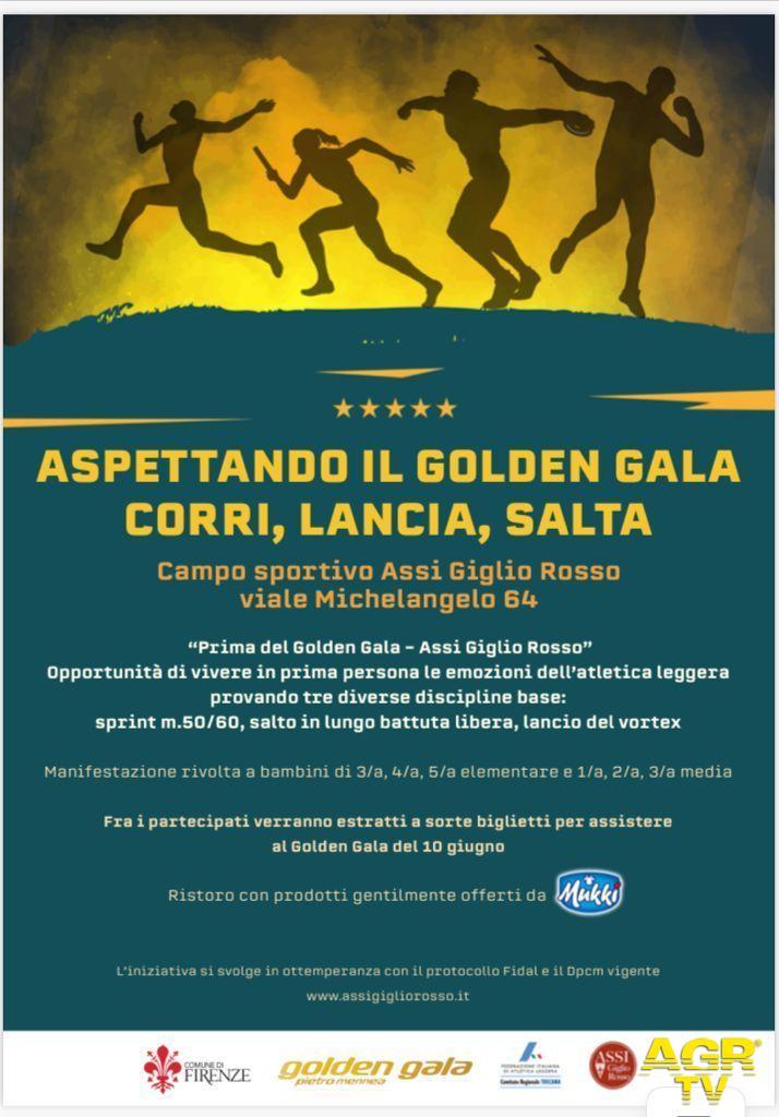 Comune di Firenze Golden Gala, Firenze aspetta le stelle dell'atletica con tante iniziative per i più giovani