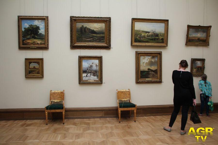 visitatori museo