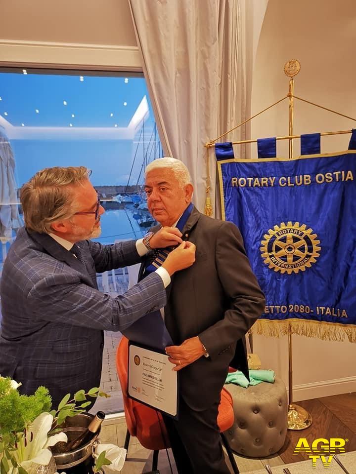 ROTARY CLUB OSTIA: Una conviviale ricca di emozioni