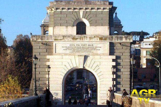Torretta Valadier ponte Milvio Roma