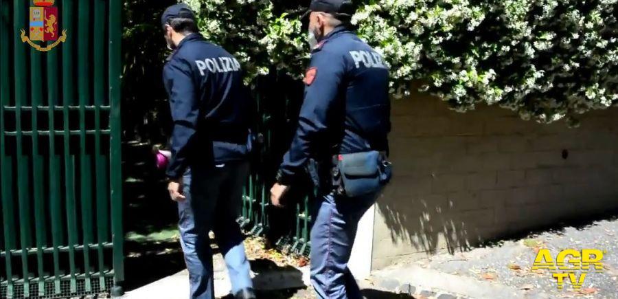 agenti del commissariato Appio