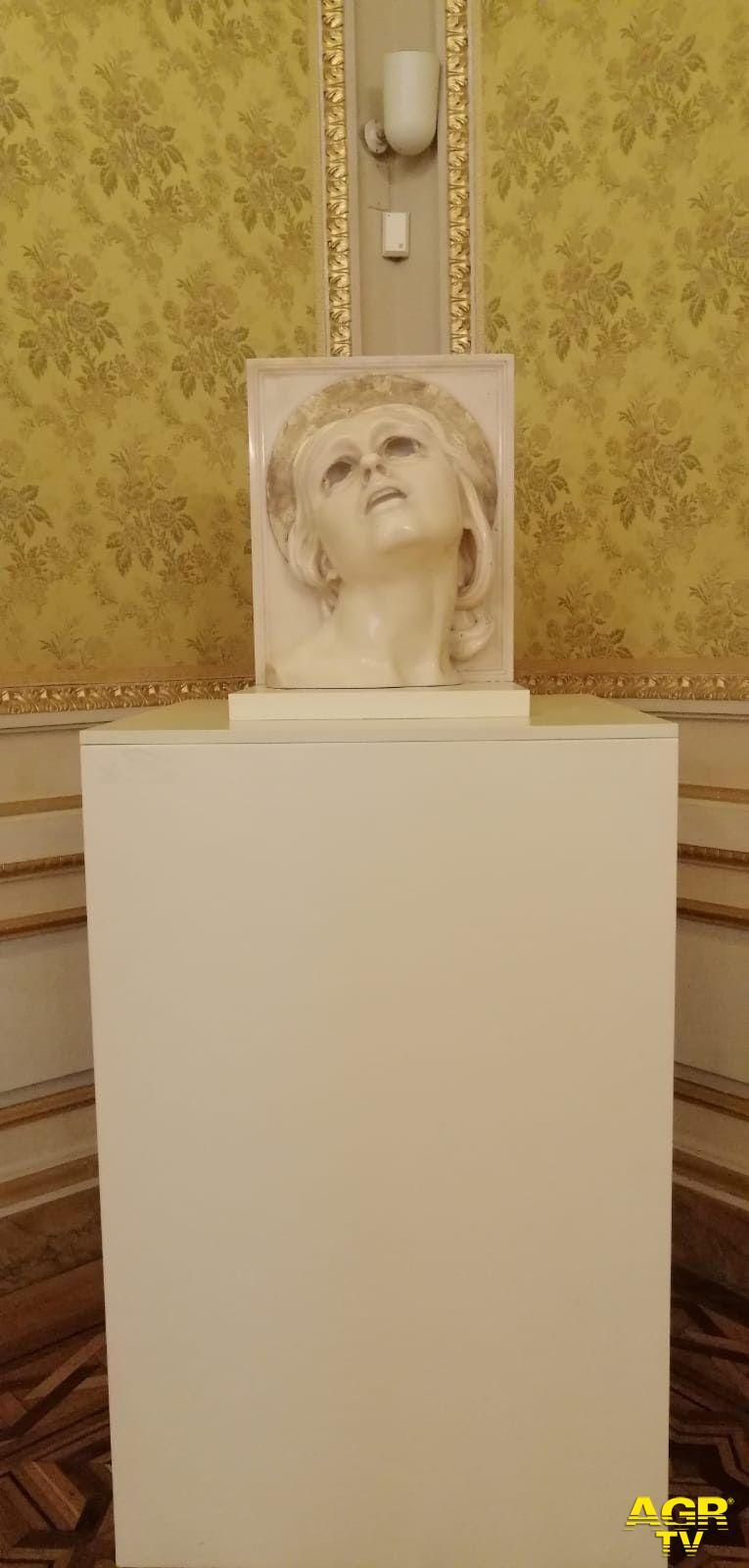 """scultura di Adolfo Wildt """"Santa Lucia"""