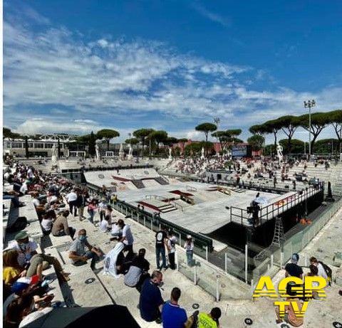 Mondiali Street Skateboarding, Roma protagonista della kermesse a rotelle