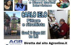 Francesca Faiella e Gianni Maritati Intervistano Carlo Ielo Pittore e ritrattista