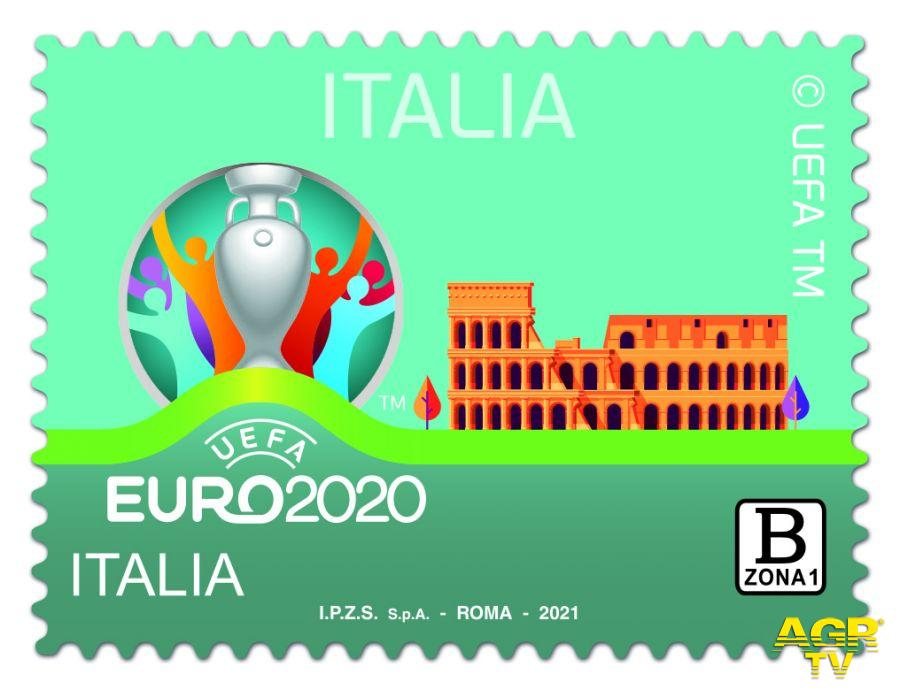 francobollo Euro 2020