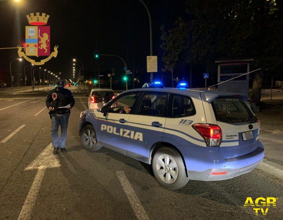 polizia controlli movida