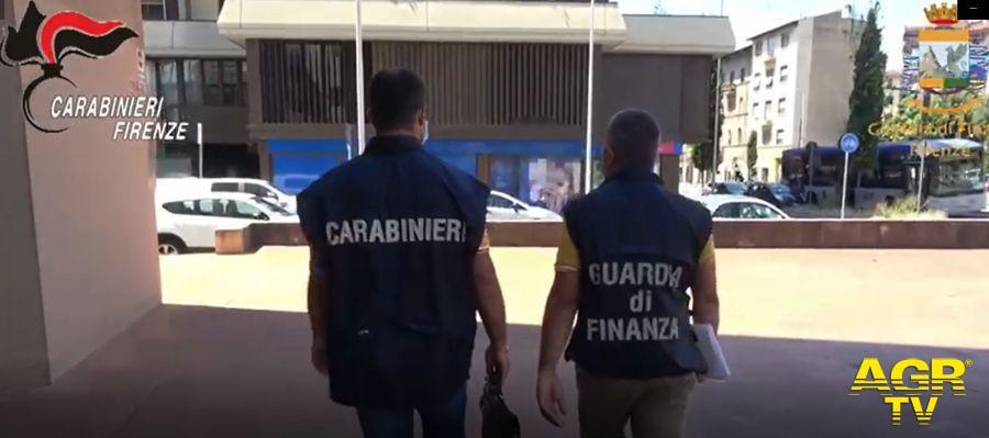 Guardia di Finanza - Comando regionale Usuraio esigeva interessi del 300% per prestiti a commercianti fiorentini in difficoltà per il Covid