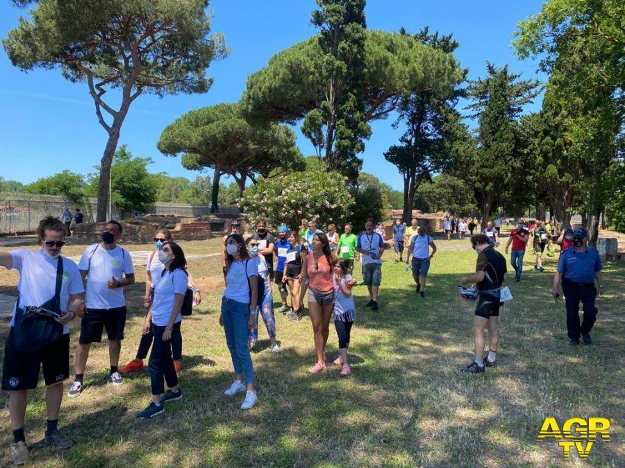 Healiade biciclettata solidale Ostia e Fiumicino