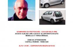 MAGGIO MASSIMO scomparso da Marino il 15 giugno 2021