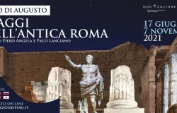 Viaggi Antica Roma locandina