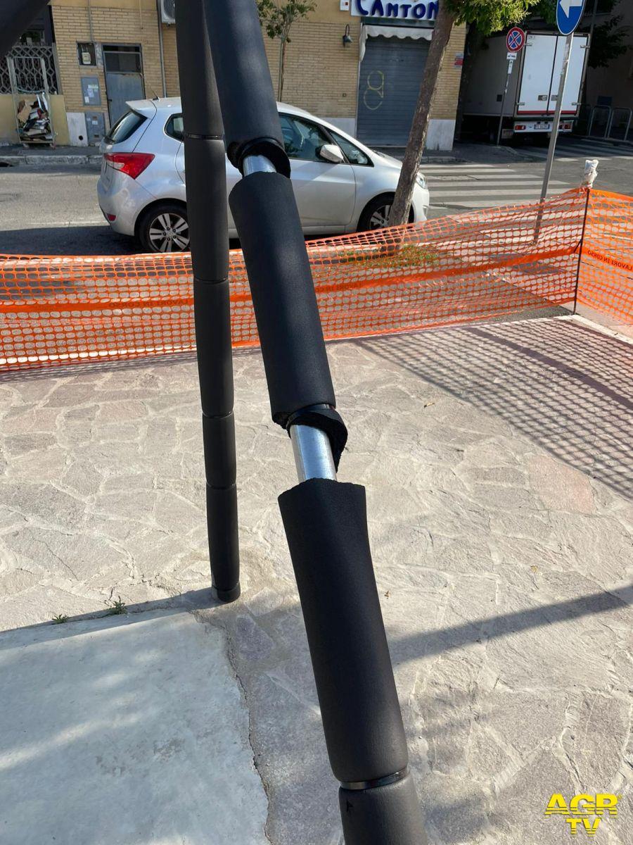 accessorio anti urto vandalizzato parco simone costa