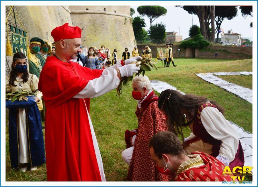 palio ostia antica papa Giulio II