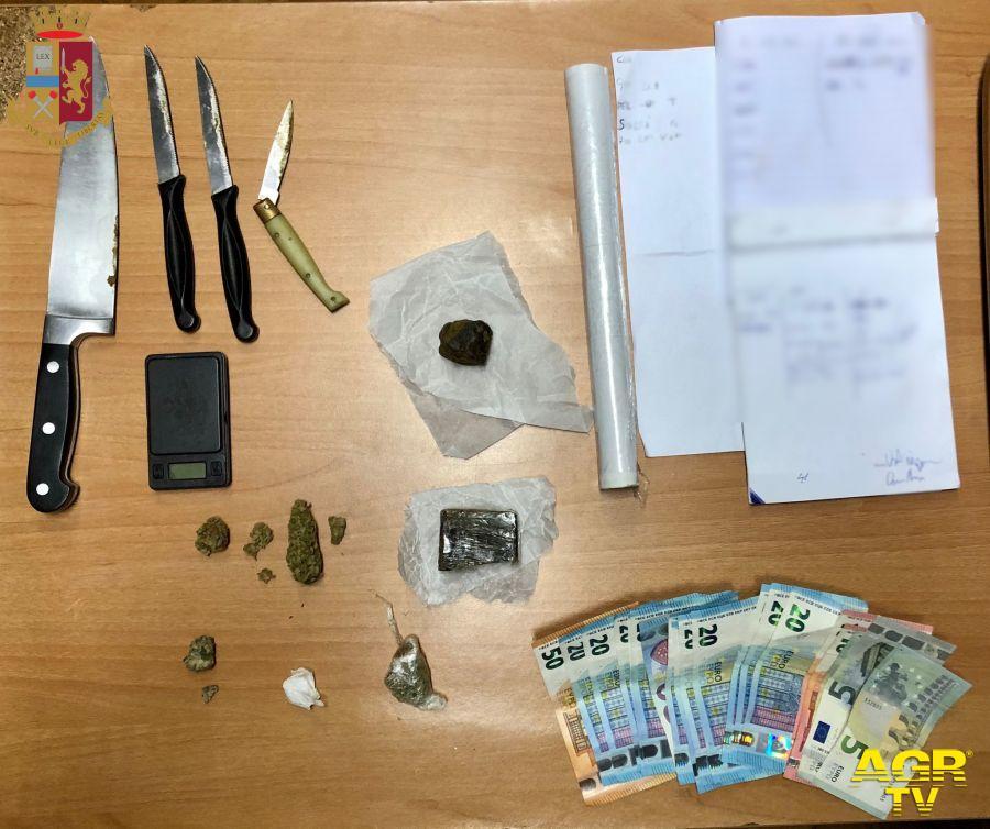 Traffico di stupefacenti, la polizia fa sei arresti, pusher individuato da una chat