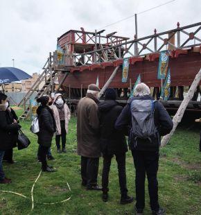 Fiumicino, la nave imperiale Liburna sarà completata, progetto fondamentale per la promozione turistica