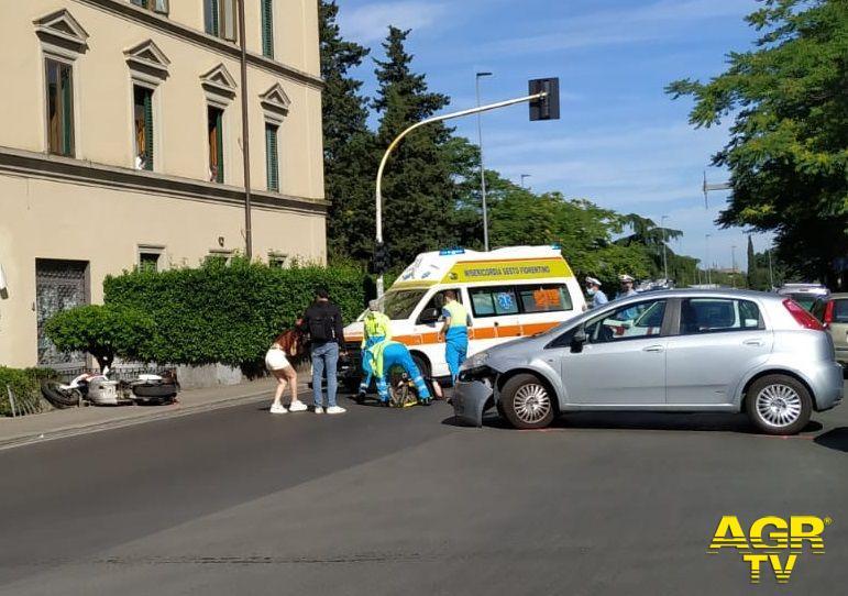Grave incidente tra Via Gramsci e Via Puccini
