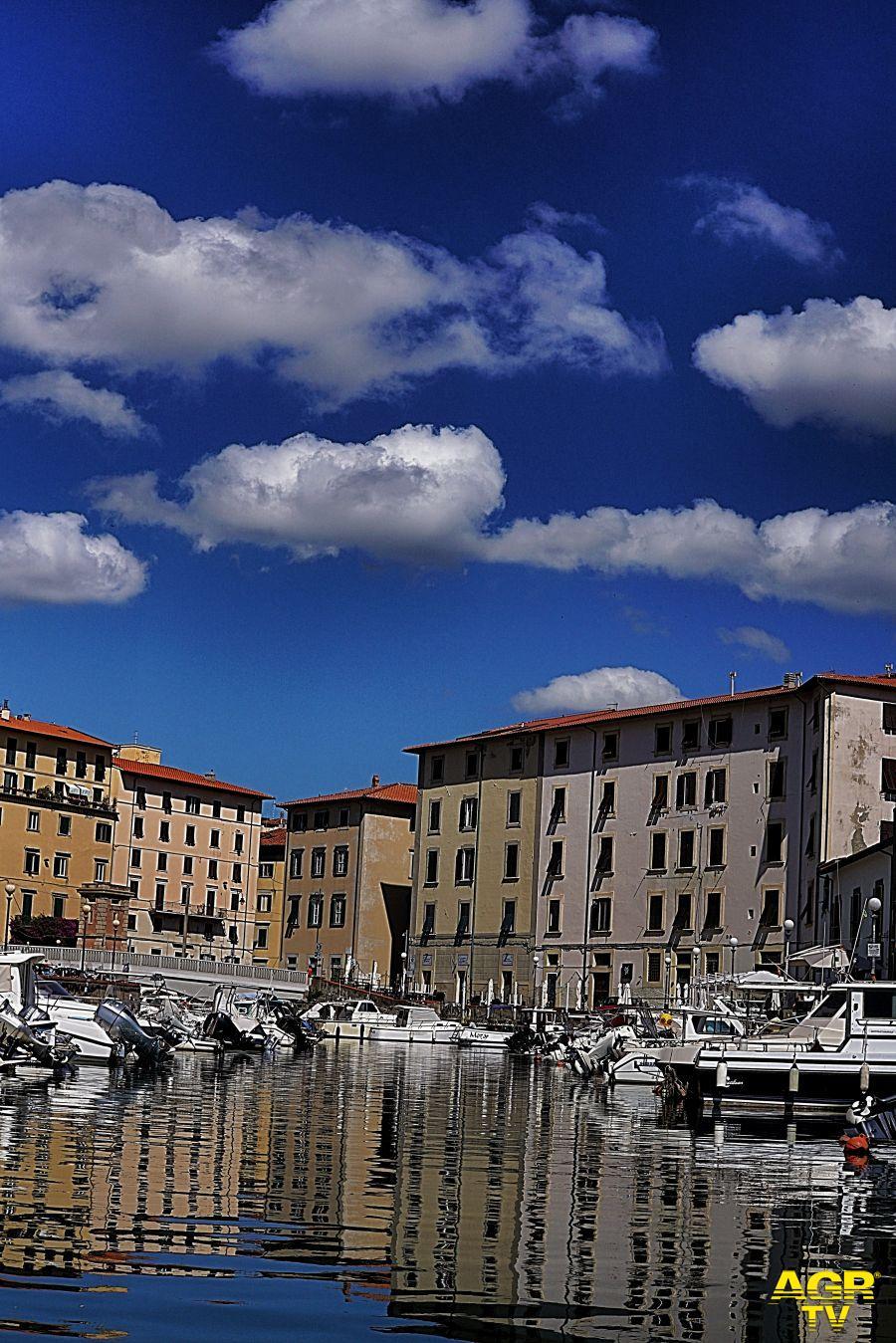 Livorno vista dai Fossi