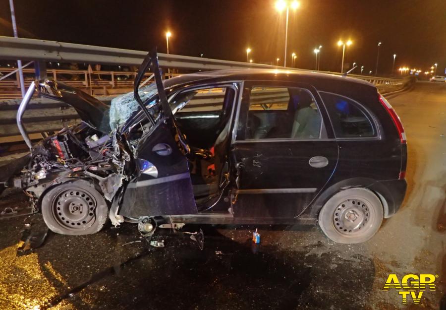 Incidente stradale sulla tangenziale di Prato