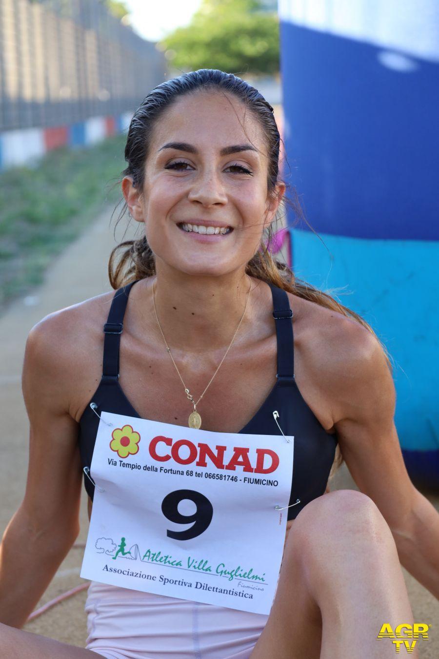 Giulia Sassoli della Asd Acsi Italia Atletica