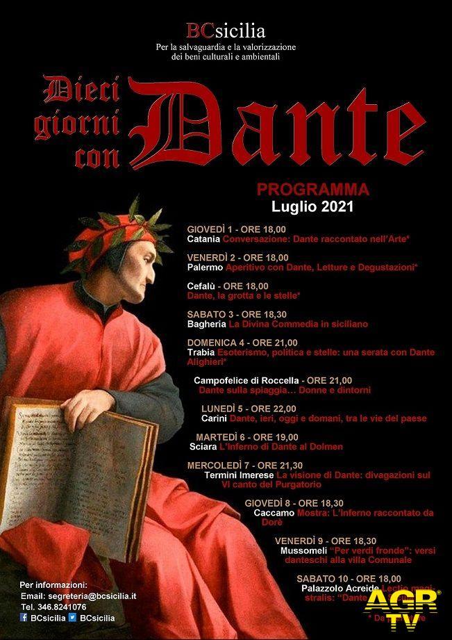 Locandina Dieci giorni con Dante