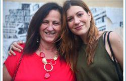 Franca Vannini con la regista del film Mazzoleni