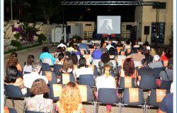 teatro del Lido la proiezione del film