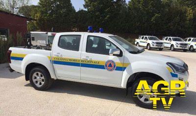 auto protezione civile