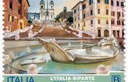 L'Italia riparte, Roma ti aspetta.....per ora è un francobollo