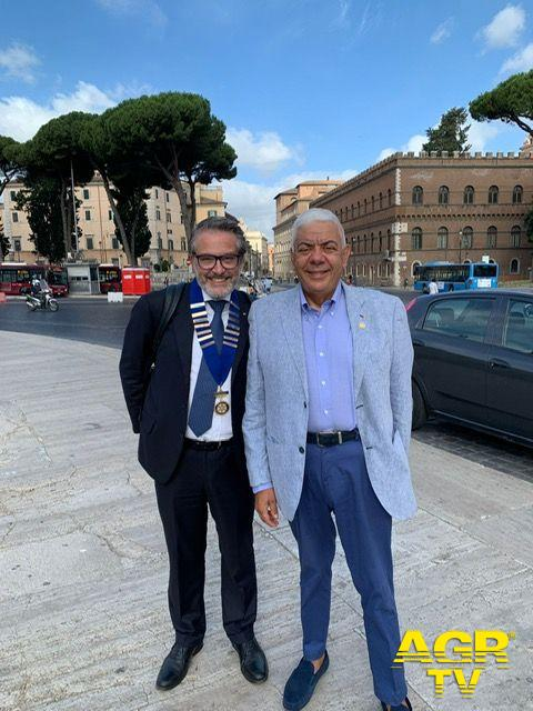 Claudio Miglio e Roberto Cepparotti (President e Past President)