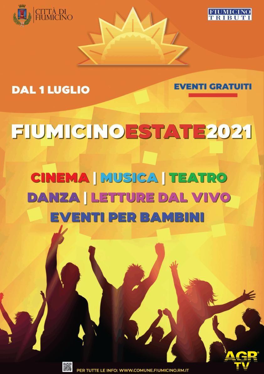 Fiumicino estate locandina 2021