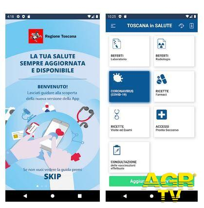 Regione Toscana Rivoluzione digitale, la nuova app 'Toscana Salute