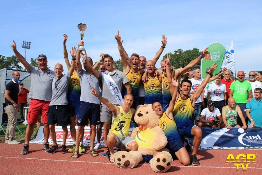 La Fratellanza Modena campione d'italia master maschile