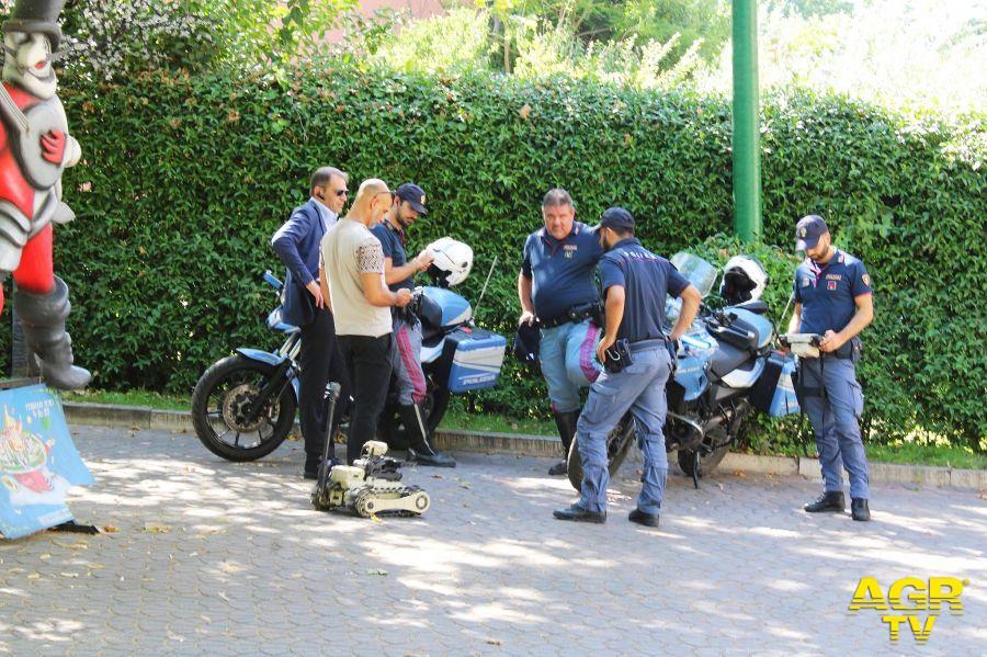 Motociclisti della Polizia di Stato